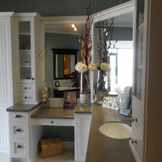 Traditional Bathroom by Ellis Creek Kitchens