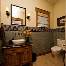 Traditional Bathroom by MQ Architecture & Design, LLC