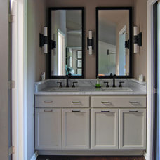 Transitional Bathroom by MJ Lanphier