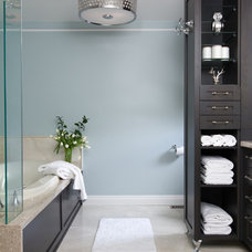 Traditional Bathroom by Jennyfer Kenez Design Inc