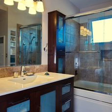Contemporary Bathroom by Levitch Associates, Inc