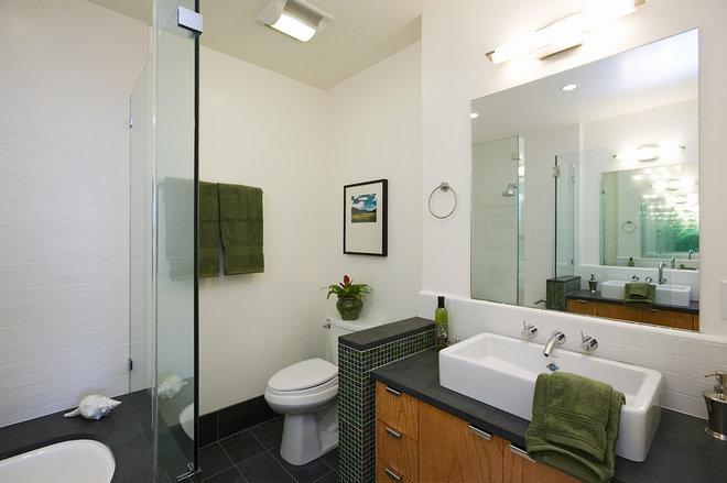 Contemporary Bathroom by Rossington Architecture