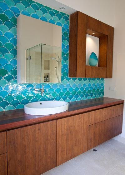 Contemporary Bathroom by Camilla Molders Design