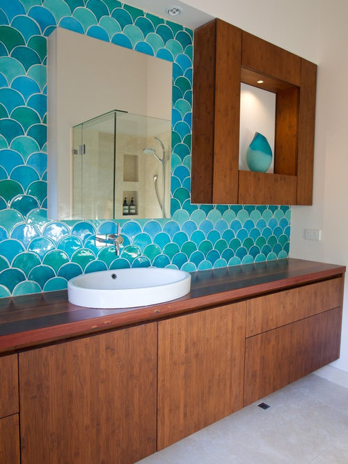 Fish Scale Tiles Home Design Ideas, Pictures, Remodel and Decor