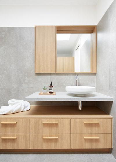 Beautiful Contemporary Bathroom by smarterBATHROOMS