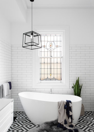 Transitional Bathroom by GIA Bathrooms & Kitchens
