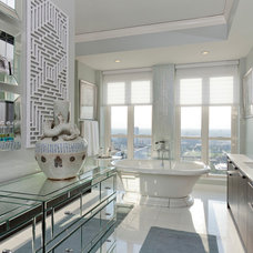Contemporary Bathroom by Anthony Michael Interior Design, Ltd.