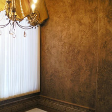 Mediterranean Bathroom by Studio Gina Villetti