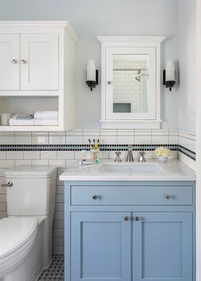 Traditional Bathroom by i.d. | interior design