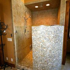 Asian Bathroom by Markim Construction, LLC