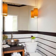 Eclectic Bathroom by TerraCotta Properties