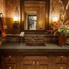 Traditional Bathroom by Sorento Design, LLC.