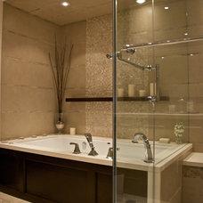 Contemporary Bathroom by Laura Stein Interiors