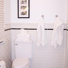 Traditional Bathroom by Susan Muschweck Interior Design, LLC