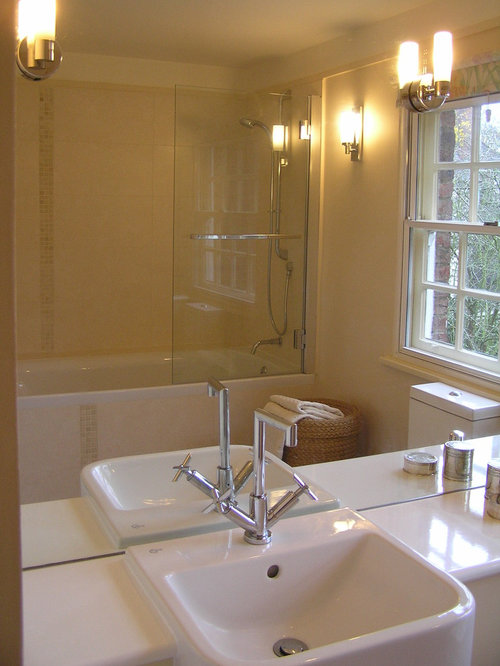Small ensuite bathroom houzz Small ensuites designs