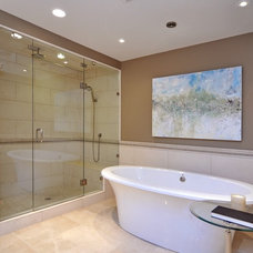 traditional bathroom by Bruce Johnson & Associates Interior Design