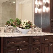 Traditional Bathroom by Bruce Johnson & Associates Interior Design