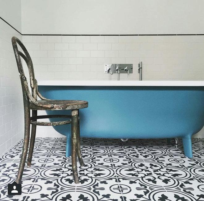 Traditional Bathroom by Kalafrana Ceramics