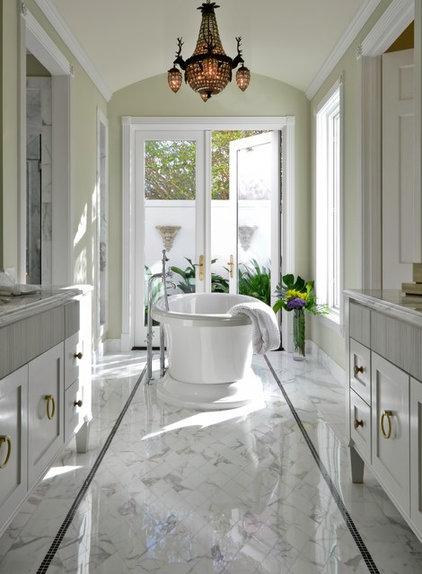 Traditional Bathroom by BRADSHAW DESIGNS LLC