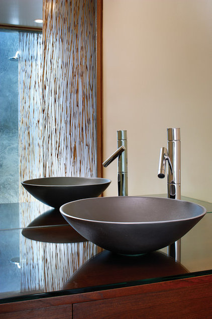 Asian Bathroom by Tracy Stone AIA