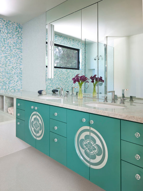 green bathroom vanities home design ideas pictures remodel and decor