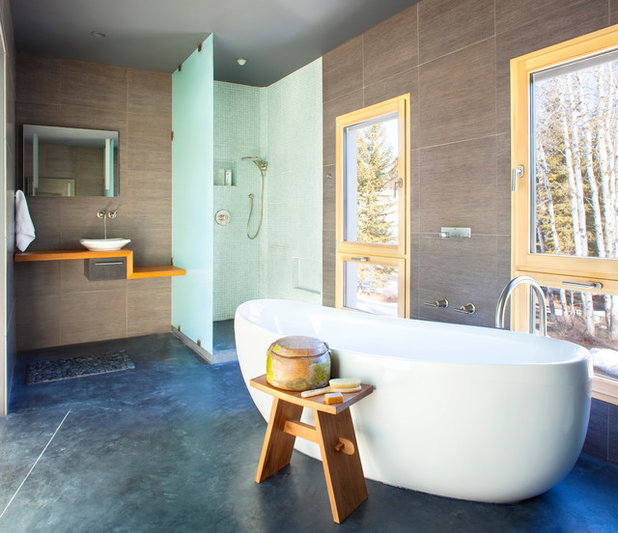 Houzz Tour Unexpected And Ecofriendly In Montana