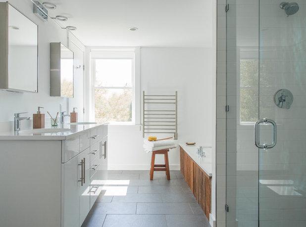 Bagni piccoli: vasca doccia combinate
