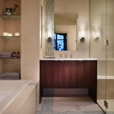 Eclectic Bathroom by Hilary Young Design Associates