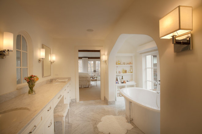 Traditional Bathroom by Murphy & Co. Design