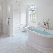 Traditional Bathroom by Burns and Beyerl Architects
