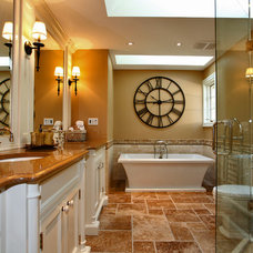 Traditional Bathroom by DW Homes Inc.