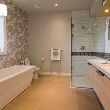 Modern Bathroom Ensuite Bathroom