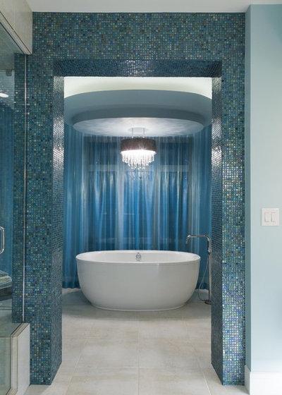 Contemporary Bathroom by Fenwick & Company Interior Design