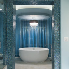 eclectic bathroom by Fenwick & Company Interior Design