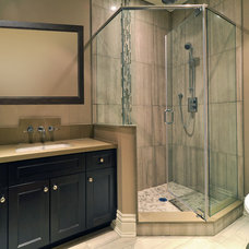 Contemporary Bathroom by Galle Construction Inc