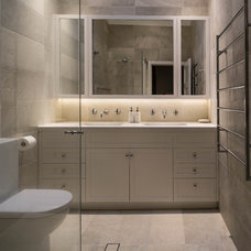Transitional Bathroom by Look Design Group P/L