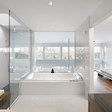 Contemporary Bathroom by Habitat Studio
