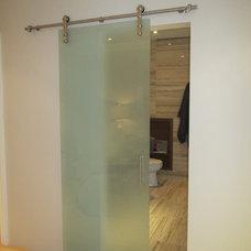 Contemporary Bathroom by Suzanne Davison Interior Design Inc