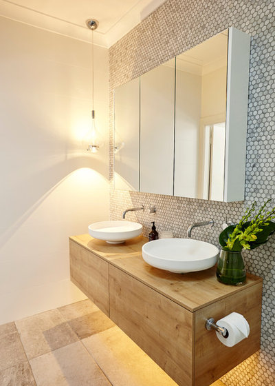 Contemporary Bathroom by Alix Helps Interiors