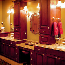 Traditional Bathroom by Satory Interior Design