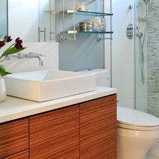 Contemporary Bathroom by Enviable Designs Inc.