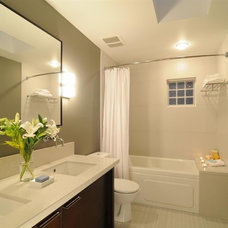 Transitional Bathroom by CCI Renovations