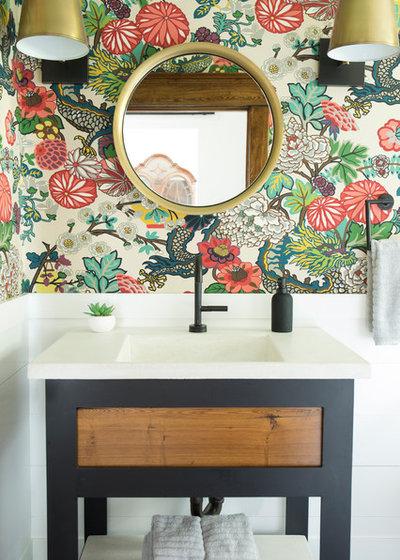 Modern Bathroom by Petoskey Kitchen and Bath - Designs By Dawn
