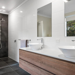 Photo of a contemporary bathroom in Other.