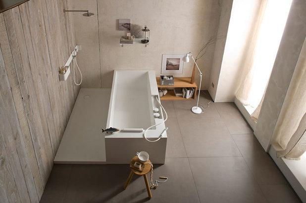 Contemporaneo Stanza da Bagno by Giulio Gianturco Design