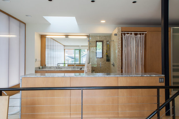 My Houzz: Industrial-Edged Comfort in Pittsburgh