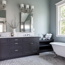 Traditional Bathroom by George Ramos Woodworking