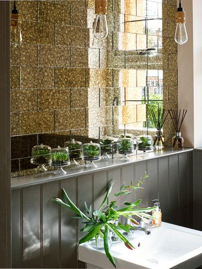 Trendy Badeværelse by Grove Interiors (London) Ltd