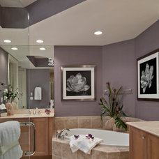 Contemporary Bathroom by Barbara Rooch Interior Environments, Inc.