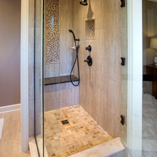 Contemporary Bathroom by Finish Line Building